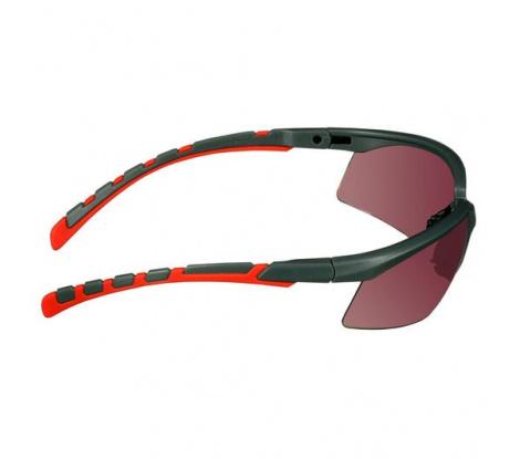 Okuliare 3M Solus 2000 S2024AS-RED-EU červené zorníky
