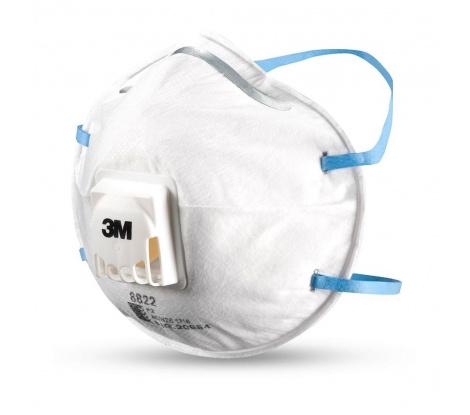 3M časticový respirátor 8822