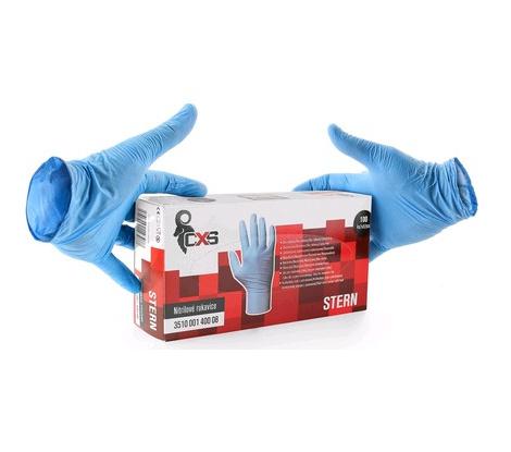 Jednorazové nitrilové rukavice STERN, veľ. 10