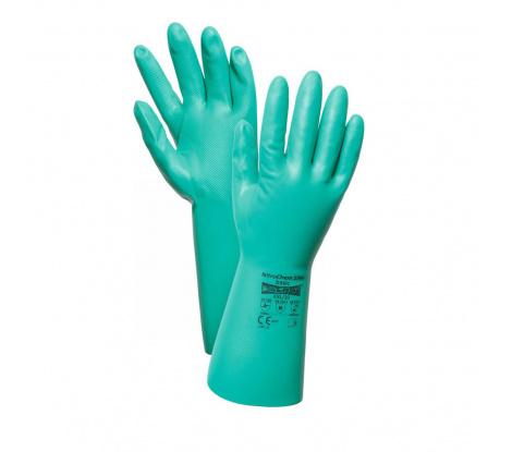 Nitrilové chemické rukavice AERO 1756 NitroChem basic veľ. 9