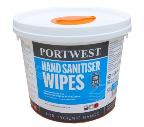 Čistiace obrúsky na ruky WIW40