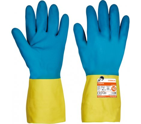 CASPIA FH rukavice latex/neopren - 7