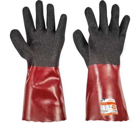 CHERRUG FH rukavice PVC veľ. 10