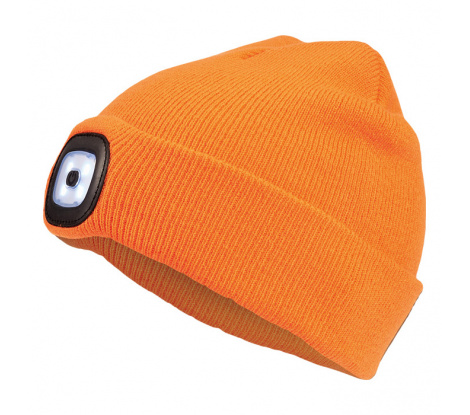 Cerva Deel zimná čiapka s Led svetlom, oranžová