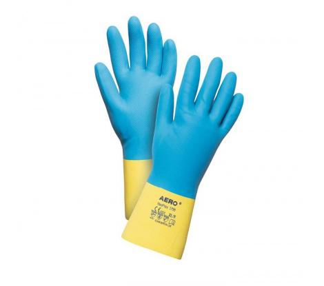 Neoprénové latexové chemické rukavice Aero NeoPrex 1799 veľ. 7