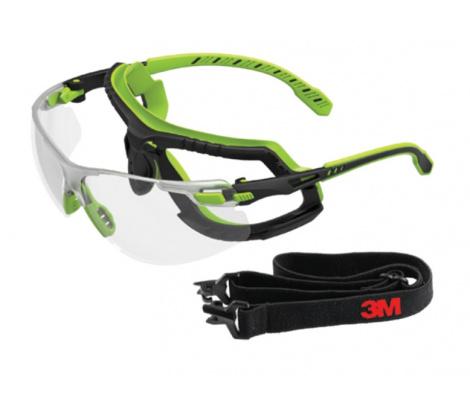 Bezrámové pracovné ochranné okuliare 3M Solus S1201SGAF-TSKT