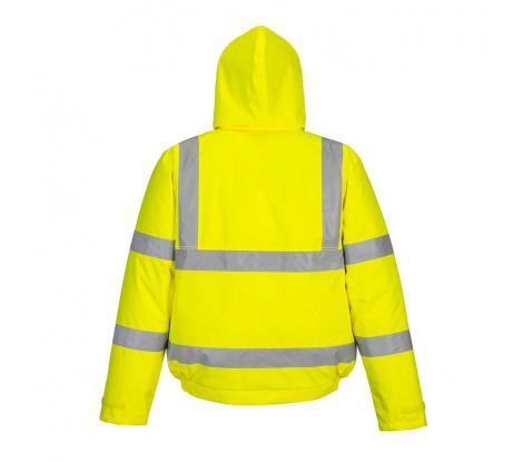 Reflexná pracovná bunda Portwest S463 žltá veľ. L