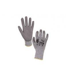 Protiporézne rukavice CITA šedé