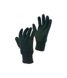 Textilné rukavice NOE hnedé
