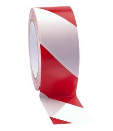 Bezpečnostná zábrana červeno-biela