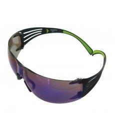 Ochranné okuliare SF408AF zrkadlovo modré