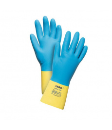 Neoprénové latexové chemické rukavice Aero NeoPrex 1799