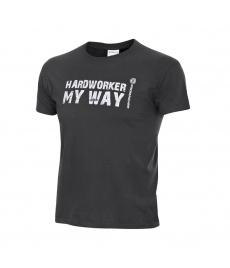 Tričko ProM HARDWORKER grey