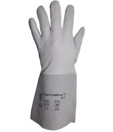 Kožené rukavice TIGER