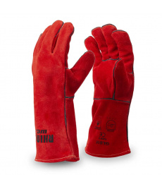 Zváračské rukavice červené Rhinoweld Kevlar GL016