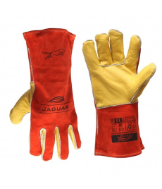 Zváračské rukavice kombinovanéMost Jaguarpre MIG/MAG a MMA