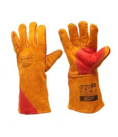 Zváračské rukavice Most Uran oranžové pre MIG/MAG